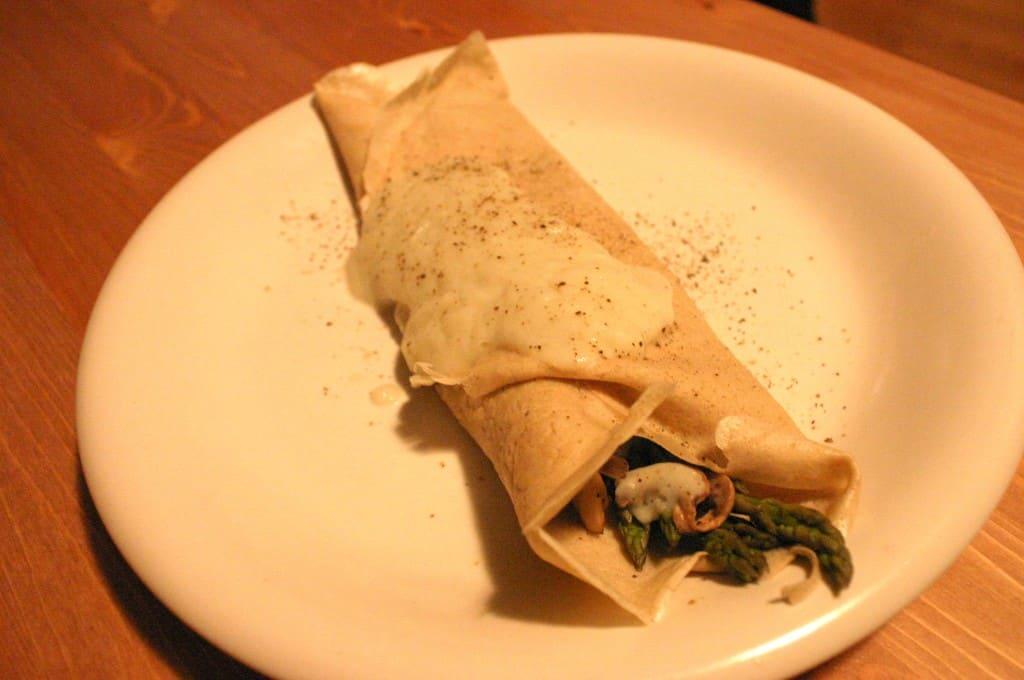 crepe asperge choufleur