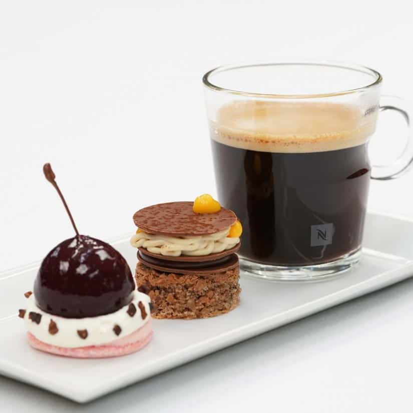 Café gourmand Nespresso 2018