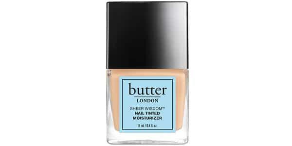 Vernis «Hydratant teinté» de Butter London