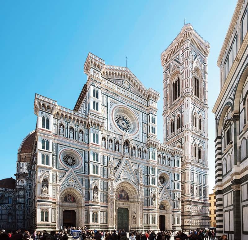 La cathédrale Santa Maria del Fiore, à Florence.