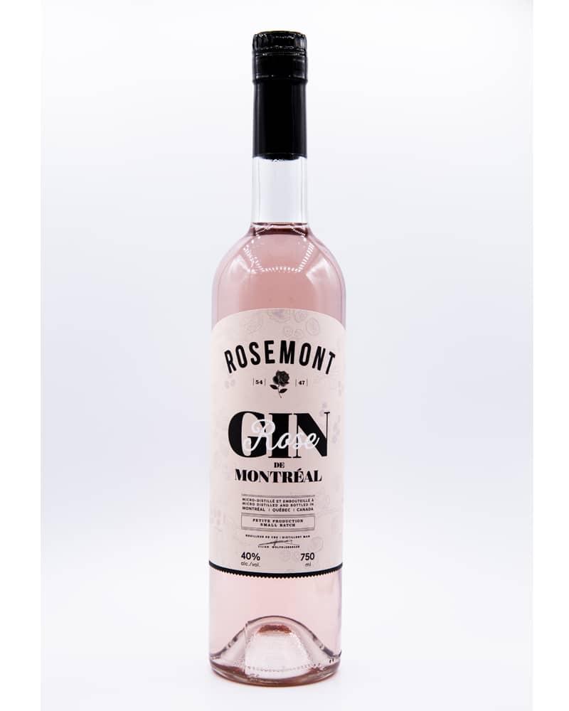 Rosemont: gin rose de Montréal