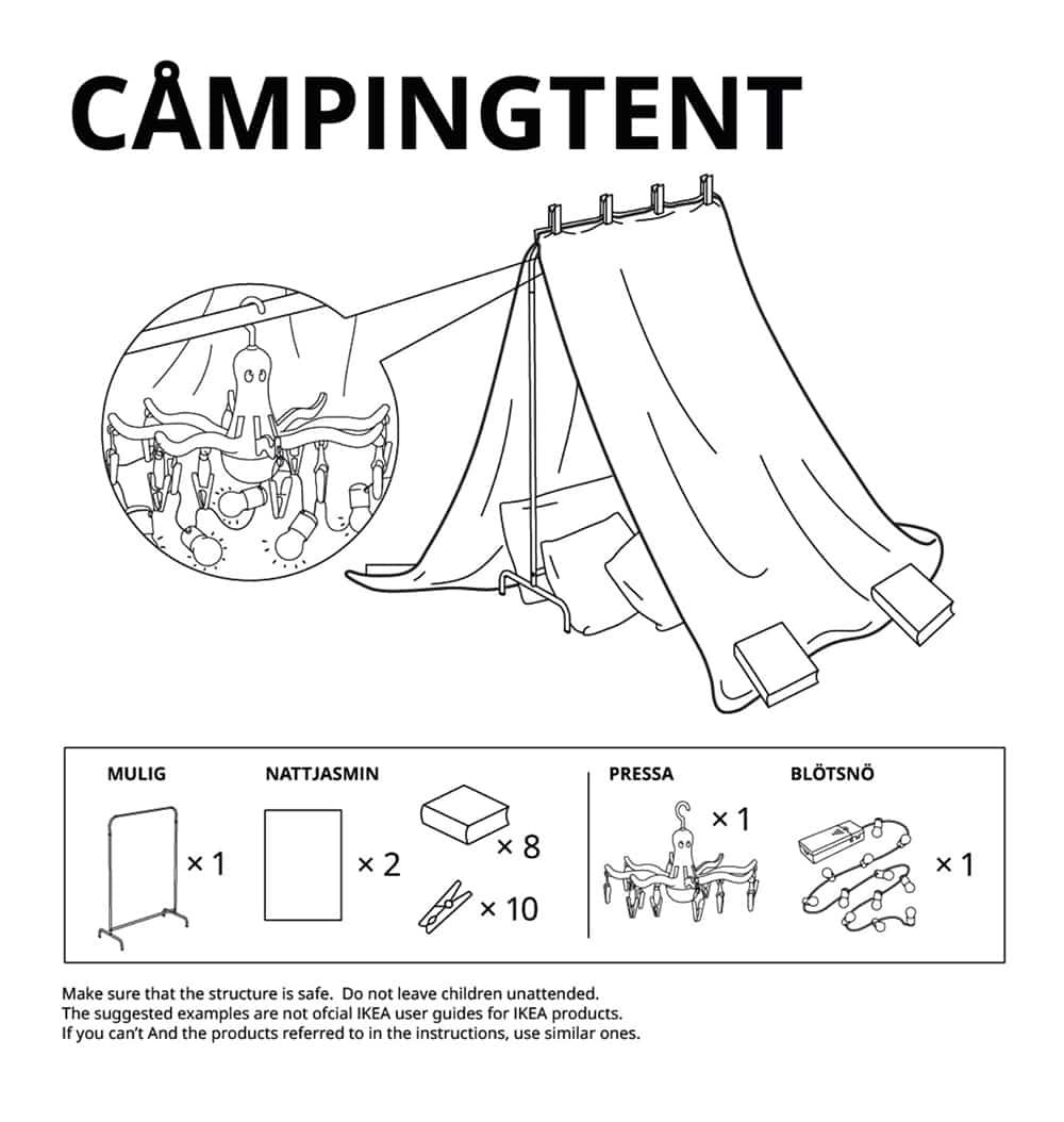 Ikea-camping