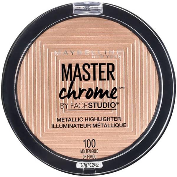 Illuminateur métallique Master Chrome Facestudio de Maybelline