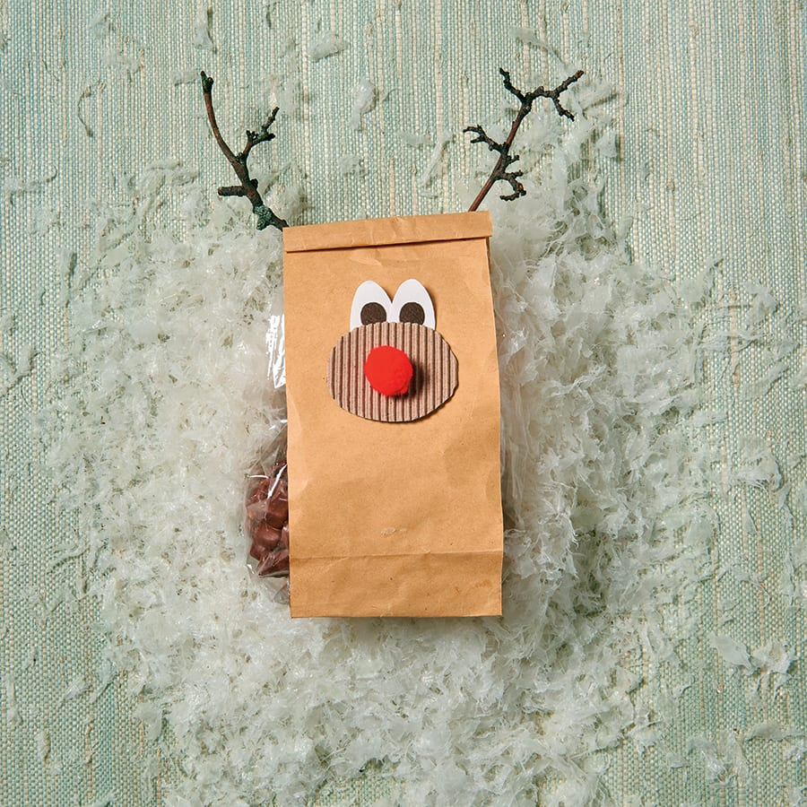reindeer bag craft