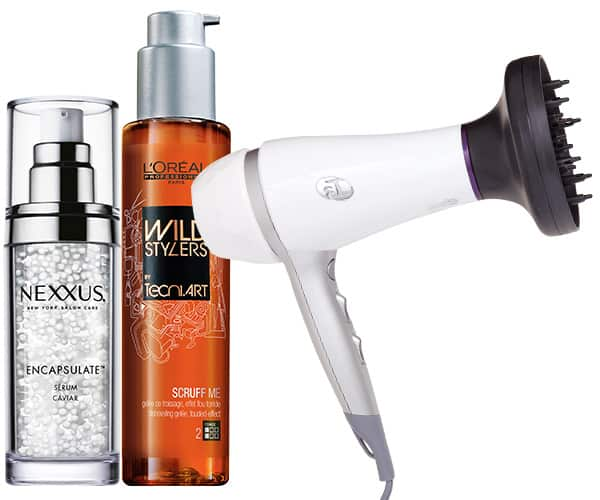 Wavy hair products
