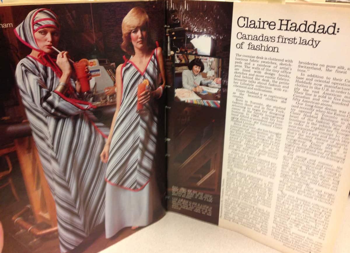 Canadian fashion 1970s like American Hustle