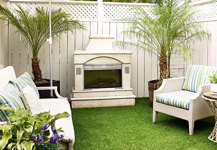 dimplex outdoor fireplace