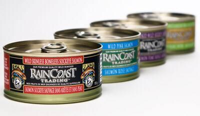 Raincoast Trading canned fish
