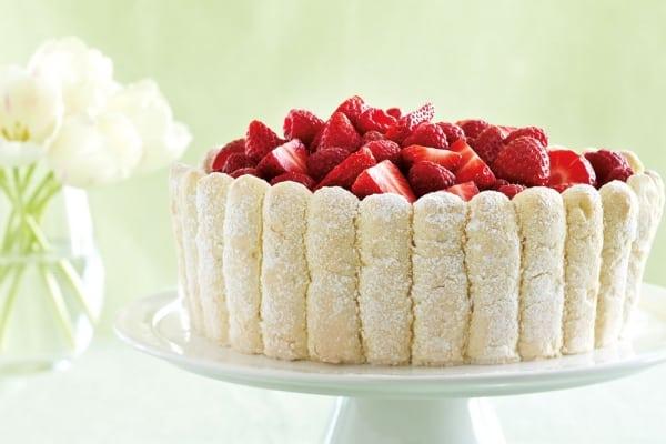 Inspiring spring dessert recipes - Berry Charlotte