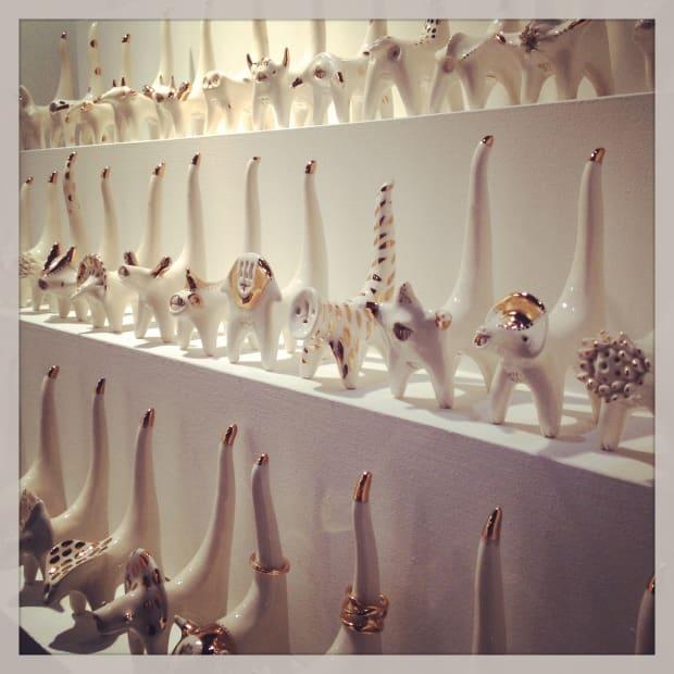 Jewellery organizers by Grace Eunmi Lee
