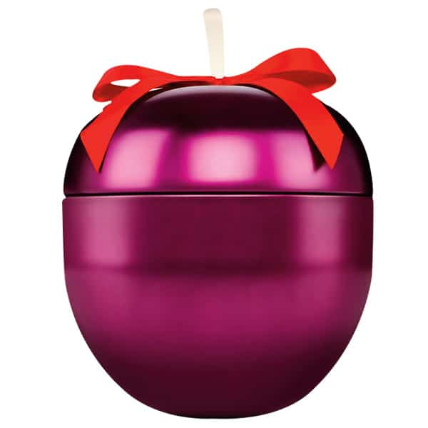 The Body Shop frosted plum tin
