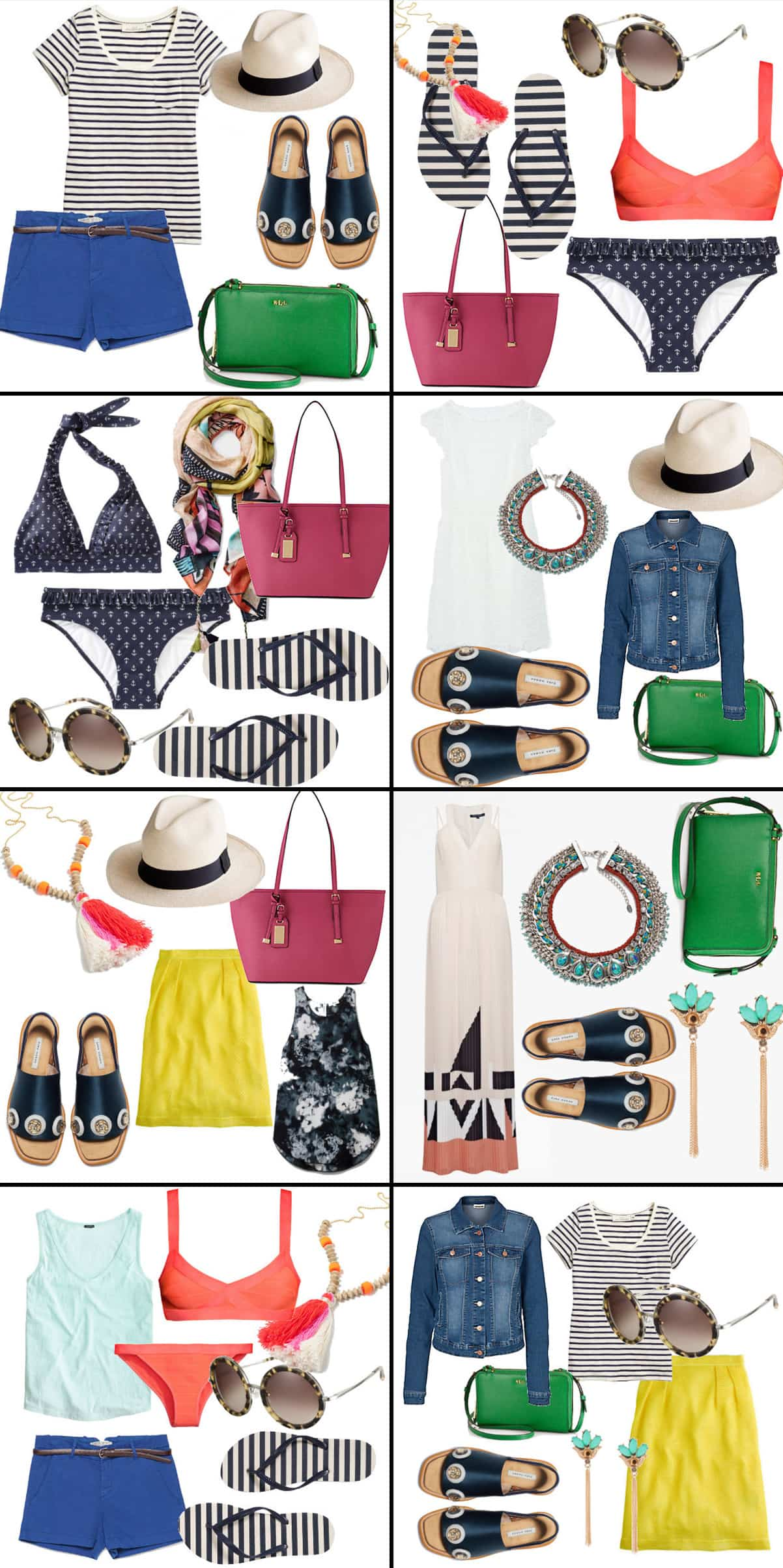 8 ways to style your clothes for a beach vacation
