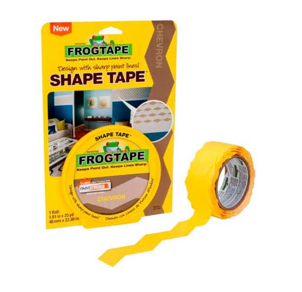 Frogtape ShapeTape Chevron patterned painter's tape