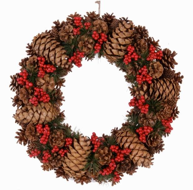 Budget friendly wreaths