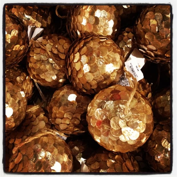 Holiday decorations from West Elm