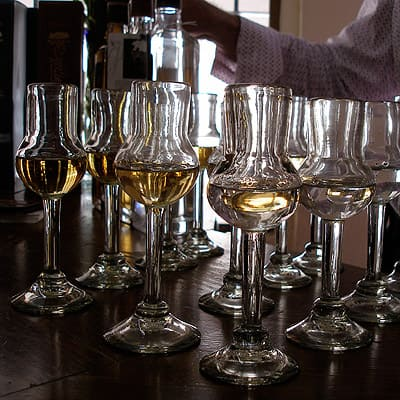 Tequila tasting at Tequila Corner