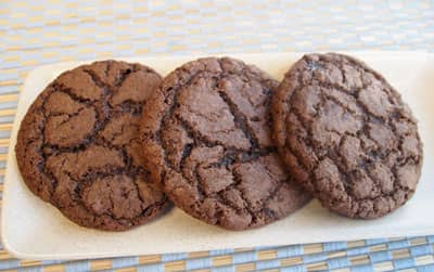 Scoop and Freeze Double-Chocolate Cookies -- p. 106