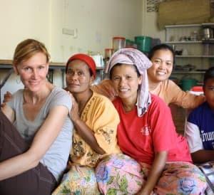 Paula Flamings, Planeterra Foundation, Siem Reap, Cambodia