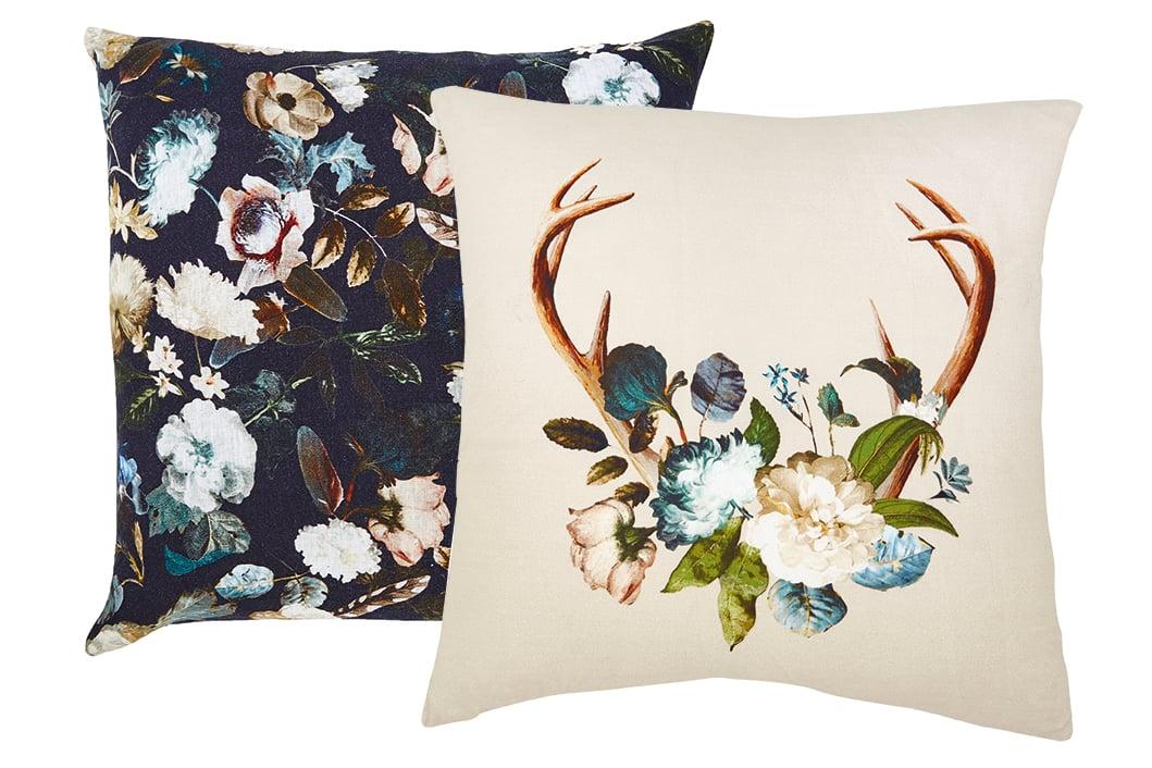 decorative pillows indigo
