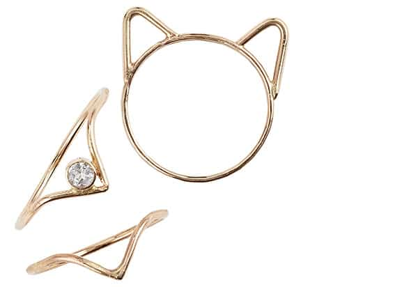 An image of Foe and Dear jewellery.