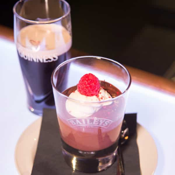 Chocolate Mousse with beer