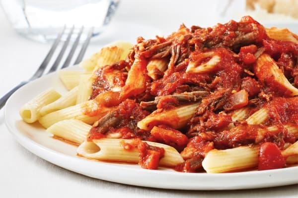 Slow Cooker Tender Beef and Tomato Ragù