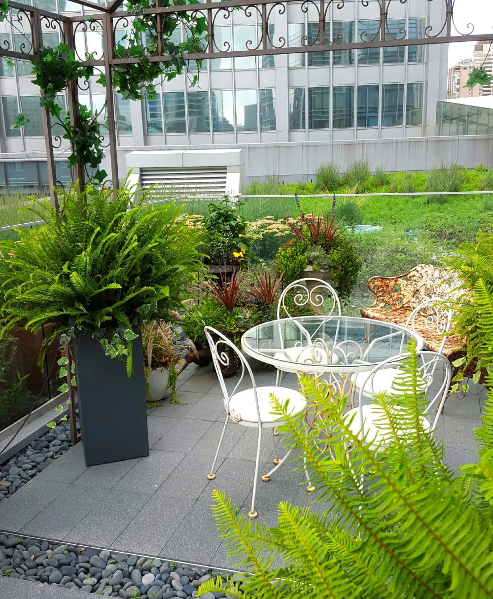 pergola terrace garden