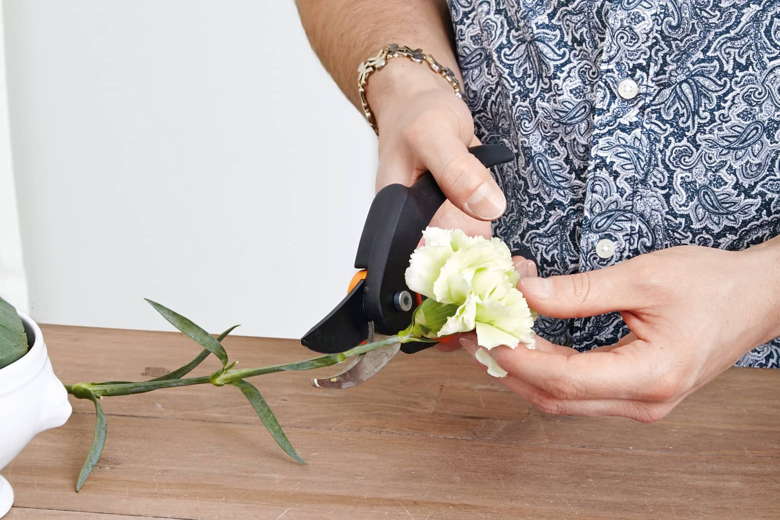 cut carnations