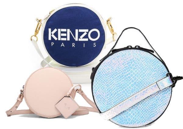 Handbag shapes - circle bags