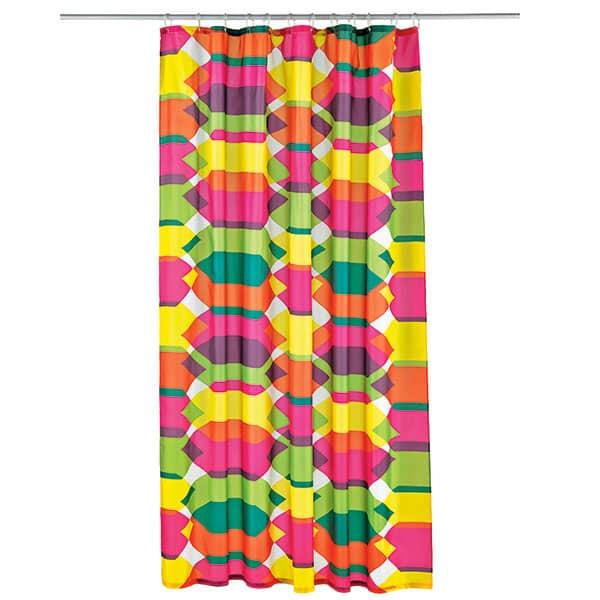 colourful curtain
