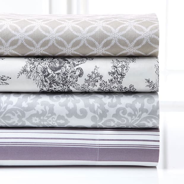 Bedding from the Style at Home Collection for Sears