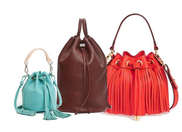 Handbag shapes - Bucket bags