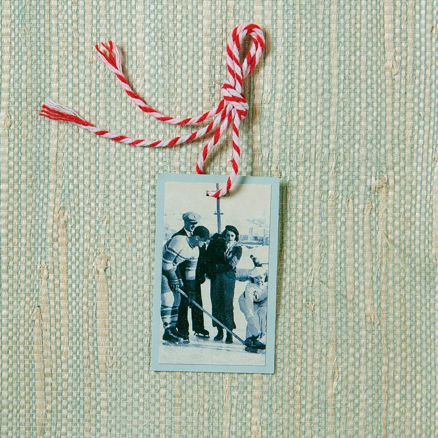 vintage gift tag craft