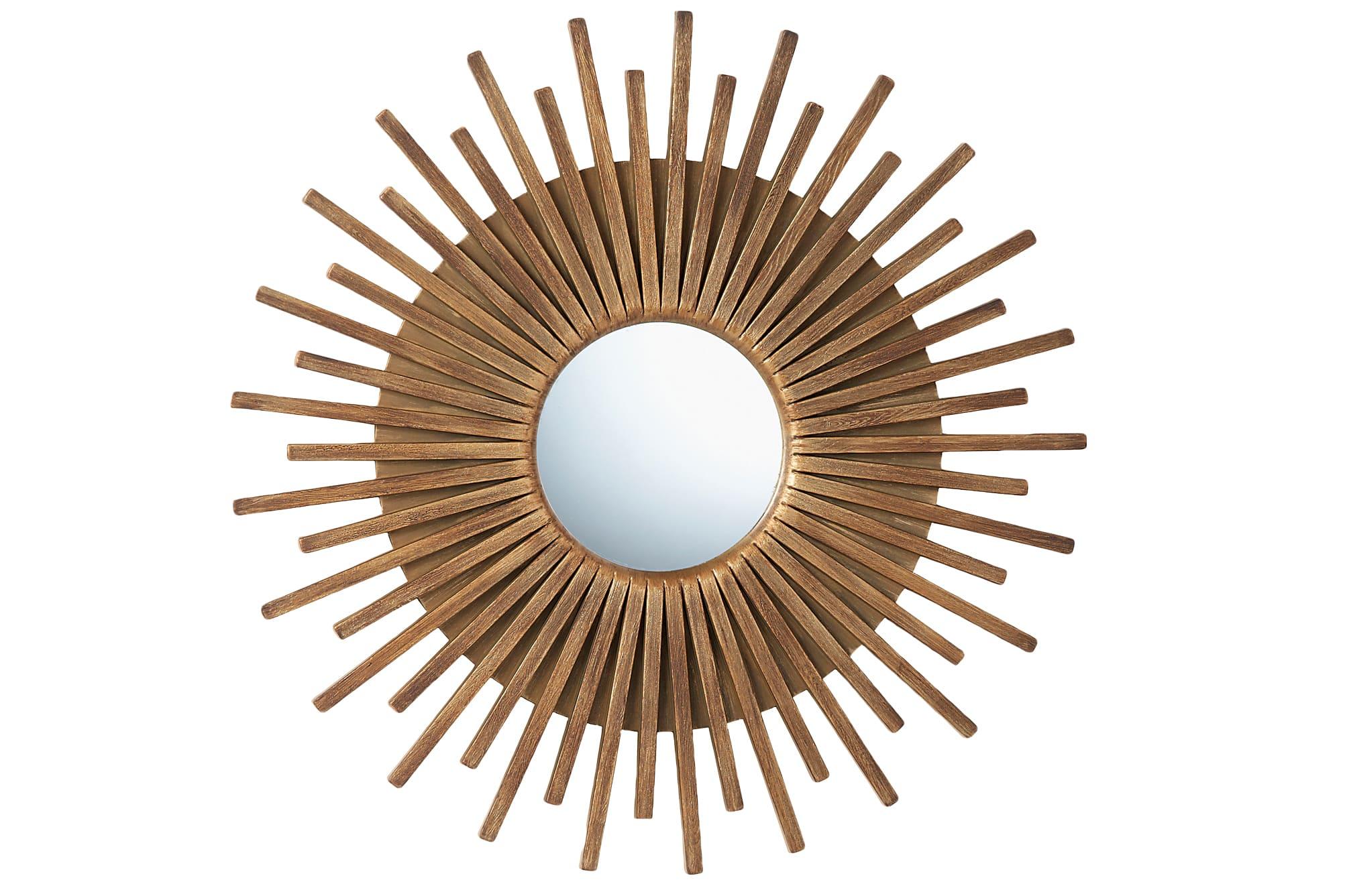 gold starburst mirror wal mart