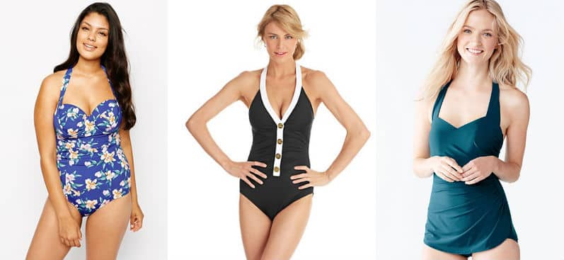 Flattering swimsuits for busy women