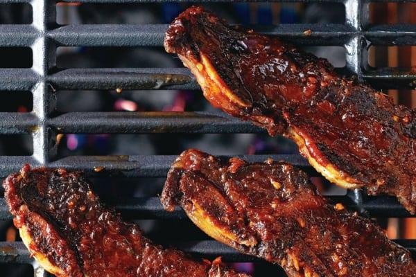 Grilled Korean beef ribs