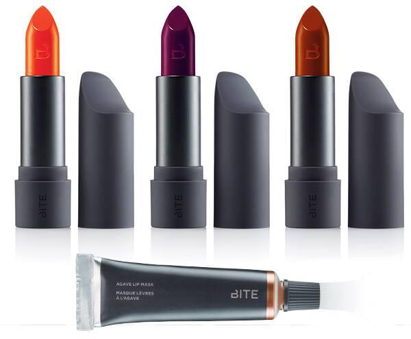 An image of Bite Beauty lipsticks.