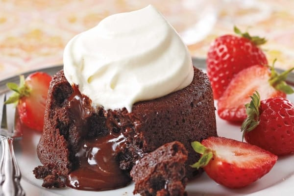 Dairy Free Gluten Free Molten Chocolate Lava Cakes