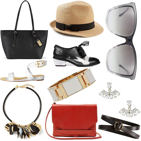 Accessories to pack for a city sightseeing trip