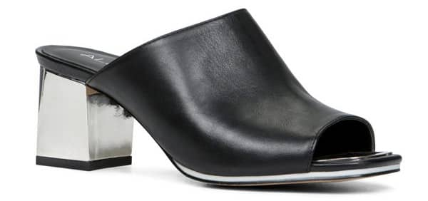 high heel trends - block heel mule