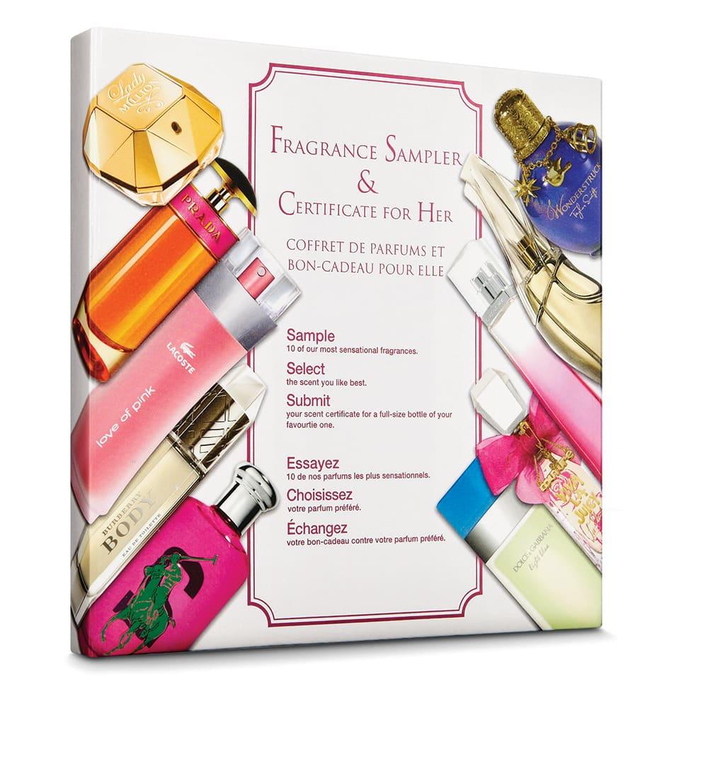 Shoppers Drug Mart National Fragrances Sampler
