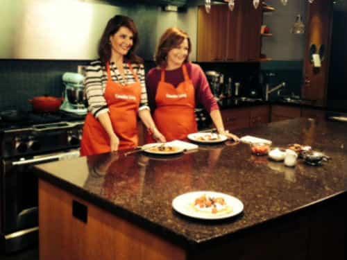 Nia Vardalos in the Test Kitchen