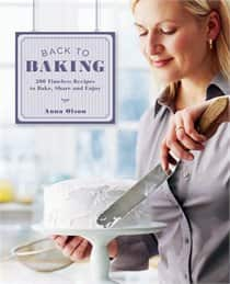Anna's latest cookbook, Back to Baking