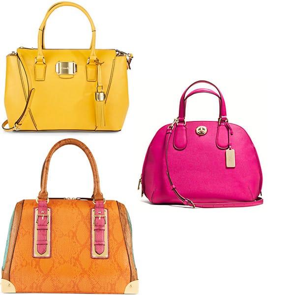 Mod sixties handbags