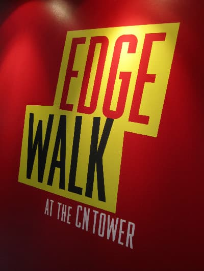 Edgewalk at the CN Tower - opening today! Here's your sneak peek...