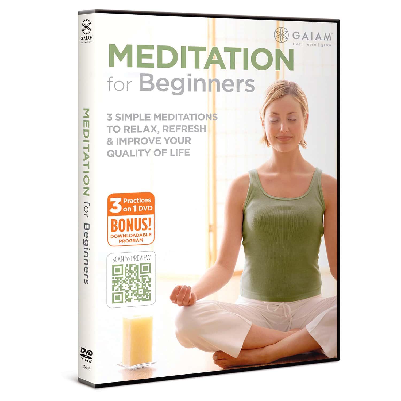 meditation for beginners gaiam