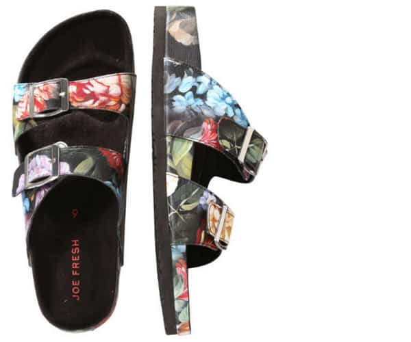 Birkenstock sandals from Joe Fresh