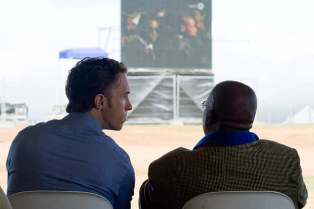 Craig Kielburger Nelson Mandela's funeral