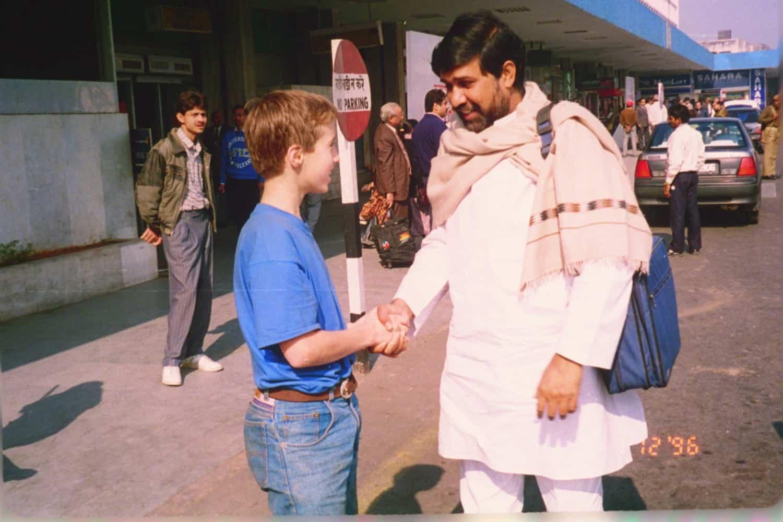 Free the Children celebrates its 20th birthday - Craig speaks with 2014 Nobel laureate, Kailash Satyarthi, with whom Free The Children built Bal Ashram
