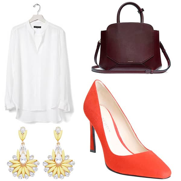 Outfit to wear with skirt